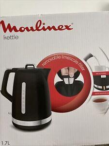 Moulinex Kettle Black New In Box
