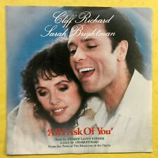 Cliff Richard & Sarah Brightman - All I Ask Of You - Polydor POSP-802 Ex