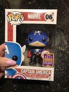 Captain America # 06 Summer Exclusive Pop Vinyl