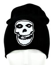 Misfits Skull Beanie Knit Cap Punk Glenn Danzig Psychobilly Rockabilly Deathrock