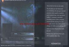 Kenwood UD-351M Hi-Fi 1994 Magazine Advert #1950