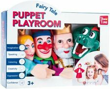 PUPPET PLAYROOM PUNCH & JUDY HAND PUPPETS X 4 PUPPETS NEW IN BOX