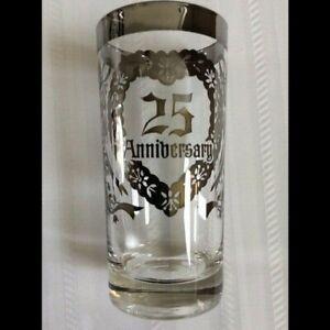 6 - 25th Wedding Anniversary Crystal Glassware – Vintage Vitreon Inc. New in Box