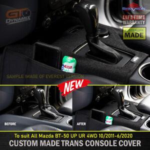 Shevron AUTO Transmission Console Cover Mazda BT-50 UP UR GT XT 4WD 10/2011-6/20