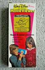 VINTAGE DUMBO WALT DISNEY MOVIE VIEWER FILM CASSETTE 1970's METTOY BOXED  L181