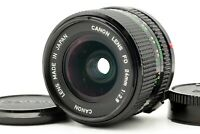 【N MINT】 Canon New FD NFD 24mm f/2.8 MF Wide Angle Lens for 35mm SLR  From JAPAN