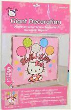 XXL Hello Kitty  Wandbild Bild Dekoration  170 cm x 165 cm Amscan