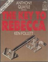 Ken Follett Key To Rebecca 2 Cassette Audio Book Anthony Quayle Thriller WWII