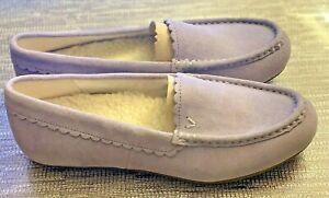 New Vionic McKenzie Comfort Loafers Mocassins Orthotics, Women's Sz USA 7, Blue