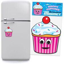 Happy Cupcake Jumbo Refrigerator Magnet