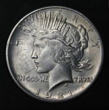 1921 Peace Silver Dollar, BU Uncirculated ** High Grade ** RARE Key Date!!