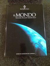 IL MONDO GRANDE ATLANTE GEOGRAFICO - De Agostini / Banca Popolare di Novara