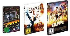7 DVDs * TANZFILM ( STEP UP 1-5 + SAVE THE LAST DANCE 1+2 ) FAN SET  # NEU OVP +