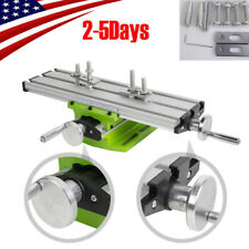 New listing Pro Milling Machine Work Table Cross Slide Bench Drill Press Vise Fixture Fda Ce