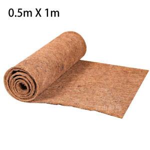 55x100cmCoconut Coir Fibre Mat Bulk Roll For Wall Hanging Basket Garden Decor