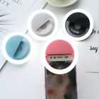 LED Selfie Ring Light Pink Cell Phone Holder Stand for Live Stream and Makeup US