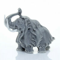 Mammoth Marble Figurine Unique Gift Animal Manual Processing  #4