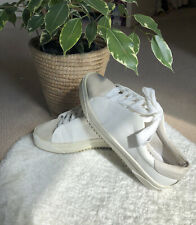 Zara Woman White Trainers/ Flat Schoes/Sneakers Size Uk7