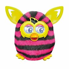 Furby Boom Figure (Straight Stripes) Pink and Black