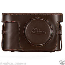 Brand New Unused Leica Vintage Brown Leather Ever-ready Case X2 X-E 18754