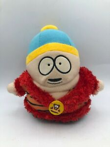 South Park Eric Cartman 2007 Comedy Central Dressing Gown Plush Stuffed Toy