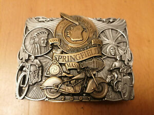 Vintage INDIAN MOTORCYCLE 2001-100 YEAR ANNIVERSARY BELT BUCKLE