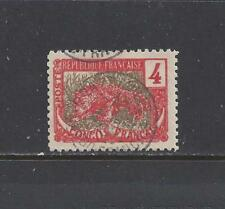 """FRENCH CONGO - 37 VAR - TY 2 - USED - 1900-04 -  """"LEOPARD"""""""