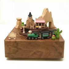 Wooderful Life Music Box (Western Train)