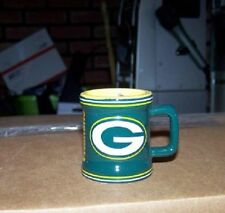 NFL Green Bay Packers 2oz Sculpted Mini Mug Shot Glass