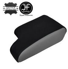 GREY BLACK LEATHER FITS BMW E36 1991-1998  ARM REST ARMREST COVER COVER NEW