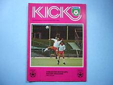 1976 VANCOUVER WHITECAPS TORONTO METROS - CROATIA KICK SOCCER FOOTBALL PROGRAM