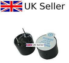 10PCS 5V Active Buzzer Magnetic Long Continous Beep Tone Alarm Ringer 12MM UK