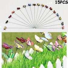 Garten Deko Sonnenenergie Schmetterling Butterfly Vogel Kolibri