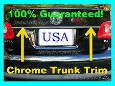 NISSAN  Chrome Trunk Lid Trim Protector Edge Molding (fits) Nissan