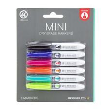 U Brands Low Odor Mini Dry Erase Markers, Medium Point, Assorted Colors,...
