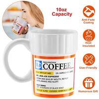 Prescription Coffee Mug - 10oz - Caffeine Tea Ceramics Cup for Coffee Lover