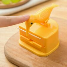 Toothpick Holder Bird Figure Storage Automatic Pop-up Push Type Restaurant Hotel