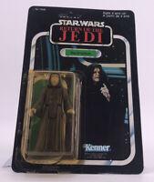 Vintage 1983 CARDED Kenner Star Wars MOC 77 Back Emperor ROTJ 77A UNPUNCHED Toy