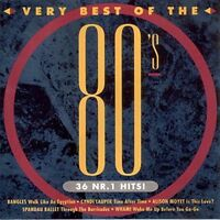 Very best of the 80's 1 Earth, Wind & Fire, ELO, Bangles, Fiction Facto.. [2 CD]