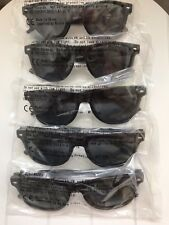 5 PAIRS OF JACK DANIELS FIRE PROMOTIONAL  SUNGLASSES BNIP FROM SEPTEMBER 2017