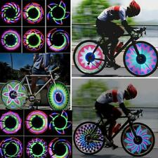32 Pattern LED Bike Bicycle Wheel Signal Tire Spoke Light Lamp Cool for Cycling