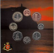 ISLE OF MAN - RARE 8 DIF BU COINS SET 1 PENNY - 2 POUNDS 2009 YEAR MINT PACKAGE