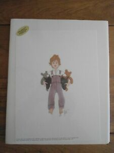 """P. Buckley Moss """"Ed"""" Print, Signed 386 of 1000, 1991"""