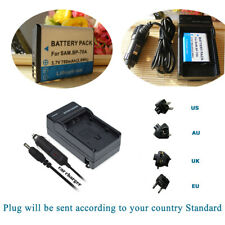 Battery +Charger For Samsung BP-70A PL210 PL211 SH100 ST200 ST205F ST100 ST150F