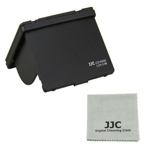JJC Black LCH-3.0B Universal LCD Hood 3.0 for 3.0inch LCD Screen Display Camera