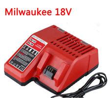 Milwaukee M18 tool Battery Charger 14.4-18V Li-ion 48-11-1840 48-59-1812 AU