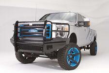 Fab Fours FS11-S2560-1 (IN STOCK) Black Steel Bumper 11-16 Ford Super Duty
