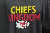 Kansas City Chiefs Mens Big & Tall Charcoal Majestic T Shirt NFL