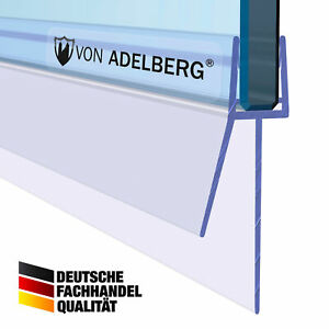 Duschdichtung Gerade PVC Ersatzdichtung Wasserabweiser Duschprofil VA006-30-17