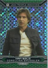 Star Wars Chrome Perspectives II X Fractor Parallel Base Card 19-J Han Solo